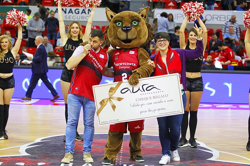Ganadores Dance Cam Aura - J.27 Liga Endesa