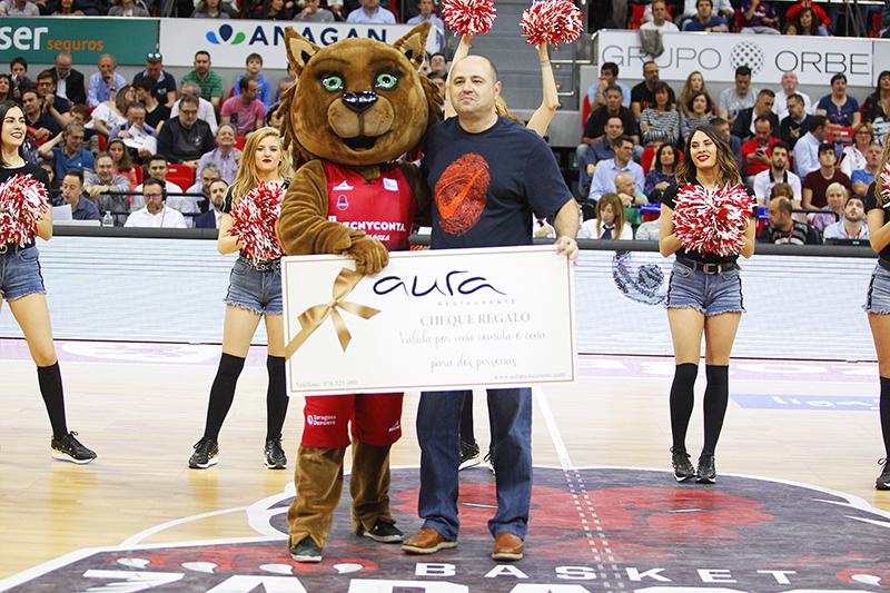 GanadorDanceCamAura_BasketZaragoza-RealMadridBaloncesto