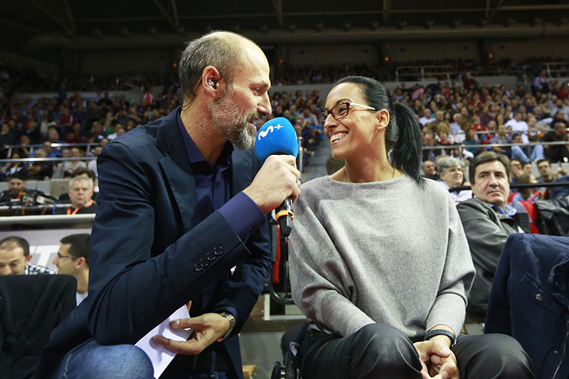 Teresa Perales con Lucio Angulo