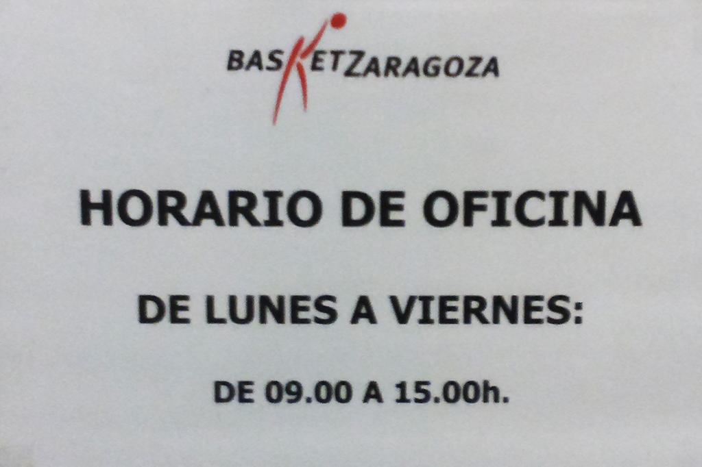 Horario de verano en las oficinas del cai zaragoza for Horario oficina adeslas
