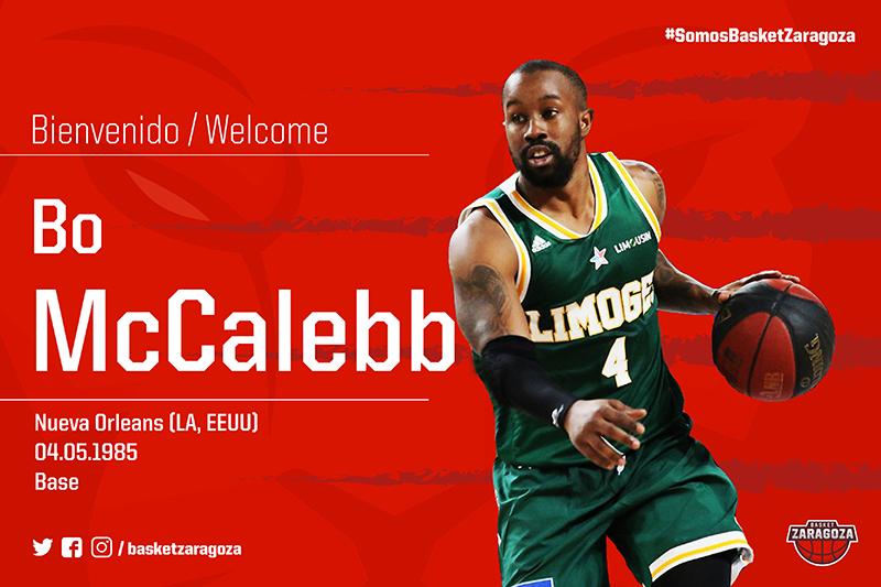 Calendario Tecnyconta.Bo Mccalebb Refuerza A Tecnyconta Zaragoza Basket Zaragoza